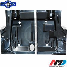 71-74 Plymouth Cuda Barracuda Trunk Floor Pan Side - Pair  LH & RH   AMD