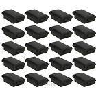 20x New Battery Pack Cover Shell Case Kit for Xbox 360 Wireless Controller Black
