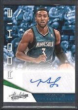 MALCOLM LEE 2012/13 ABSOLUTE #199 RC ROOKIE AUTOGRAPH TIMBERWOLVES 71/399 $12