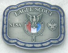 NESA  2017 Eagle Scout Silver Belt Buckle