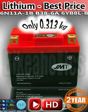LITHIUM - Best Price - Motorcycle Battery YB612L-FP JMT 6N11A-1B B38-6A 6YB8L-B