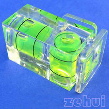 2Axis Hot Shoe Double Spirit Level Camera Bubble Hot Shoe for Canon/Nikon/Pentax