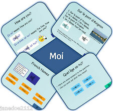 KS2 French MFL Unit 1 -  MOI - Primary IWB Teaching Resources with sound