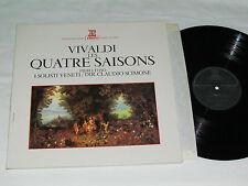 VIVALDI Les Quatres Saisons/The Four Seasons LP Erato Piero Toso Claudio Scimone