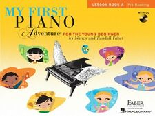 My First Piano Adventure Lesson Book A with CD Faber Piano Adventures  000420259