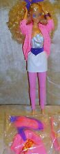 Mattel 1985 Barbie and the Rockers Loose Barbie EXC! Jewelry, outfit no shoes