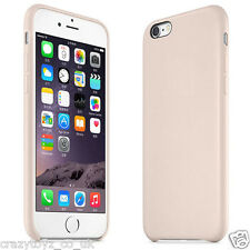 iPhone 6 PLUS Luxury Thin Genuine PU Leather Case Hard Back Cover BEIGE PINK