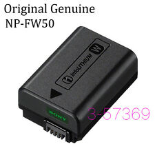 New Genuine NP-FW50 Battery For Sony A6300, A6000, A5000, A7R, NEX-7,NEX-5T