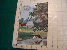 Vintage Catalog: building materials, 1955, 22pgs from Merrimack Paint, roofing,