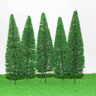 20pc 15cm Height Cypress Model Trees Railroad Park Street Diorama Scenery Layout