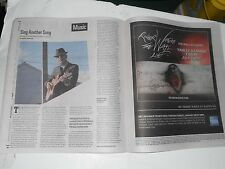 The Village Voice Review Leonard Cohen OLD IDEAS, Victoria Jackson Politic, 2012