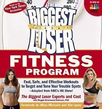 THE BIGGEST LOSER FITNESS PROGRAM WORKOUT TARGETS TROUBLE SPOTS BOOK NICE!