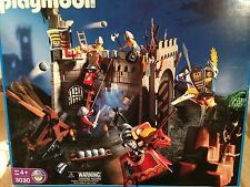 Playmobil 3030 Adventure Set Knights Castle Retired 2001 RARE NISB XXL