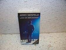 Jerry Seinfeld : I'm Telling You For the Last Time Live VHS Video NEW SEALED