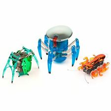 HEXBUG Chrome Tri-Pack - Spider, Inchworm and Ant With Remotes Great Gift