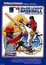 Major League Baseball (Intellivision, 1980)
