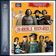 HORRIBLE HISTORIES - COMPLETE SERIES 6 - ROTTEN RULERS ***BRAND NEW DVD ***