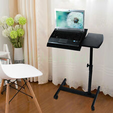 Adjustable Portable Laptop Table Stand Folding Computer Desk Sofa Bed Tray NEW