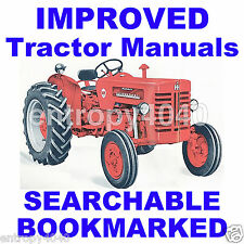 IH B275 B-275 Tractor ENGINE, BRAKES, PTO SERVICE Repair MANUAL -12- MANUALS SET