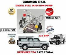 FOR LAND ROVER DEFENDER 2.4 TD4 2007-  NEW COMMON RAIL DIESEL INJECTION PUMP