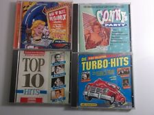 4 CDs - Rock´n Roll Megamix - Top 10 Hits - Conny Party -  Oldie Collection /S86