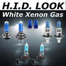 H7 H1 H8 501 55w White Xenon HID Look High Low Fog Beam Headlight Bulb Pack