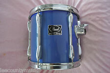 "ADD this PEARL EXPORT SERIES 10"" BLUE RACK TOM to YOUR DRUM SET TODAY! LOT #T707"