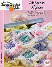 Gift Bouquet Afghan ~ Flowers & Tulips, Annie's crochet pattern ~ no sew