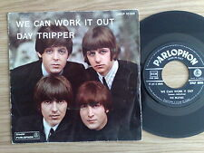 "THE BEATLES - WE CAN WORK IT OUT - RARO 45 GIRI 7"" ITALIAN PRESS 1966"