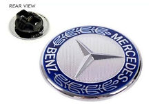 GENUINE MERCEDES BENZ C-CLASS W204 FLAT BONNET BADGE EMBLEM LOGO A2048170616 NEW