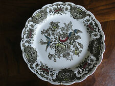 "Ridgway Staffordshire Hand Engraving 10"" Dinner Plate  ""Windsor"", No Tax"