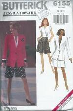 Jacket, Top and Shorts - Butterick Pattern 6155 - 1992