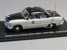 MTH RAIL KING 1:43 DIE-CAST 49 FORD 2 DOOR COUPE NC HIGHWAY PATROL auto 30-50110