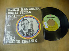 "BOOTS RANDOLPH(JOE SOUTH)""GAMES PEOPLE PLAY-disco 45 giri MONUMENT Italy 1969"""
