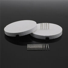 2Pcs Dental Porcelain Honeycomb Firing Trays & 20Pcs Metal Pins High Quality