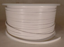 25 ft White 18/2 SPT-1 U.L. Listed Parallel 2 Wire Plastic Covered Lamp Cord 601