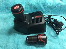 Bosch blue professional 10.8v cordless lithium ion batteries/charger