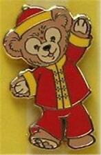 CHINA Chinese DUFFY THE DISNEY TEDDY BEAR MINI PIN