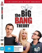 THE BIG BANG THEORY - THE COMPLETE FIRST SEASON 3DISC-SET (DVD MOVIE) Region: 4