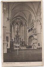 (4200) ansichtskarte Wolfenbüttel  Hauptkirche BMV