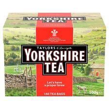 Taylors Yorkshire 160 TEABAGS 500g-venduti in tutto il mondo dal Regno Unito