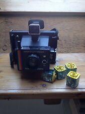 Vintage Polaroid Super Colour Swinger II Camera/Instant Land Camera/Boxed/Manual