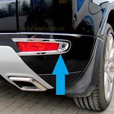 Chrome rear bumper fog lamp cover Range Rover Evoque dynamic accessories light