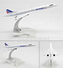 AIR FRANCE Concorde Airplane 16cm DieCast Plane Model