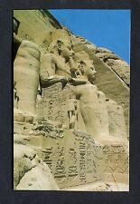 C1980's View of the Four Statues of Rames II, Abu Simbel, Egypt.