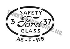 "1932-52 Ford glass etching kit original style glass ""bugs"" for your restoration"