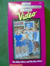 LOT OF 2 The Babysitters Club Videos - The Baby-sitters & the Boy-sitters/Mary..