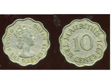 ILE MAURICE   10  cents 1971