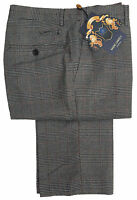 MENS MARC DARCY DRESSY CHECK TROUSERS STYLE JAMES - GREY