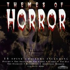 Themes of Horror Psycho, Carrie, The Fly, Exorcist.. [CD]